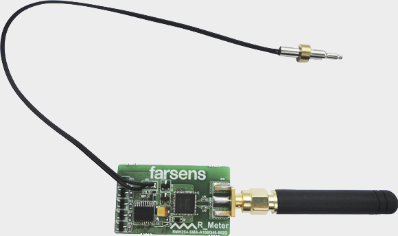 Pyros temperature sensor with thermistor and SMA connector