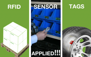 RFID Sensor tags in different applications