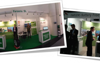 Farsens booth at Electronica and EuroID