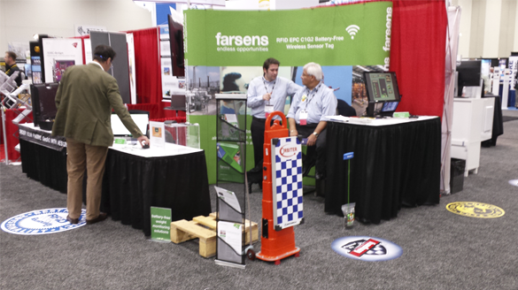 Farsens booth at RFID Journal LIVE 2015