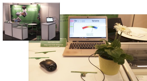 Farsens booth at Sensor+Test 2015
