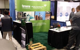 Farsens booth at Sensors Expo 2015