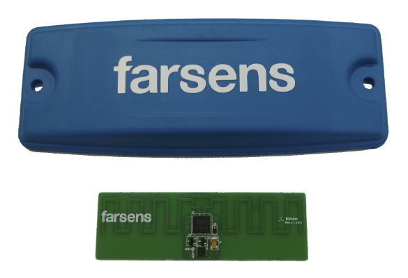 Standard ABS tag casing for the Kineo tag