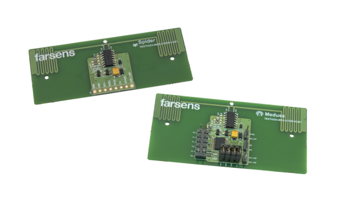 RFID IC design for battery free sensors